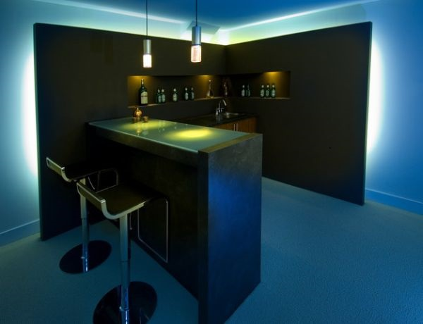 Abstract Lighting: Innovative Bar Lighting Ideas - Abstract Lighting LLC