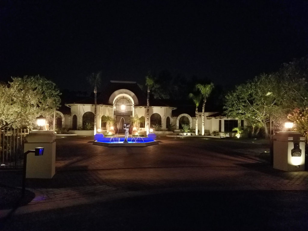 custom landscape lighting ideas. Be The Talk Of Your Neighborhood With Custom Landscape Lighting From Professionals At Abstract Lighting! Ideas